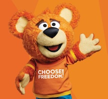 Freedom Mobile Bear