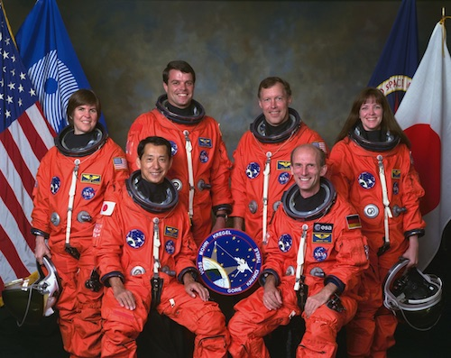 Shuttle STS-99 crew